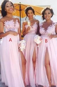 Cap Short Sleeve Jewel A-Line Tulle Zipper Dress